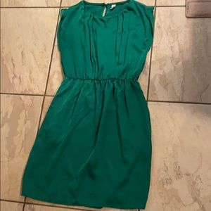 Green old navy dress